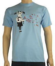 BANKSY GAS MASK GIRL T-Shirt Graffiti Arte Urbana-Scelta di Colori, S a 3XL