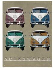 88668 Camper Vintage Quad Wall Art Sign Decor WALL PRINT POSTER FR