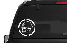 Metal Mulisha Skull - Body Decal / Window Sticker 3 SIZES Militia 4x4 OFF ROAD
