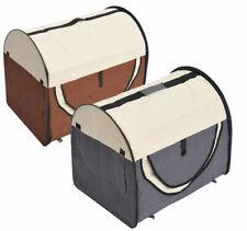PawHut Hundebox faltbare Hundetransportbox Transportbox Tier 2 Farben 5 Größen