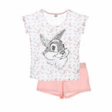 DISNEY pyjama femme PANPAN rose blanc  S M L XL  36 38 40 42 44 46 NEUF