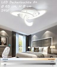 Plafonnier LED w2127 avec télécommande coloris blanc fluo/