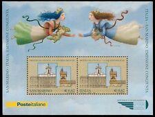 SAN MARINO/ITALIA REPUBBLICA 2006 - FOGLIETTO n.81 EMISSIONE CONGIUNTA  € 80