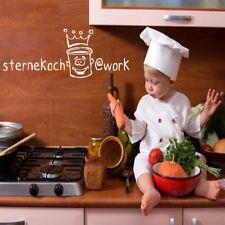 Estrellas Koch murales cocina decoración mural Sticker Adhesivo hechizo cocinar