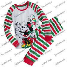 DISNEY Store PAJAMA PJ SET for Women HOLIDAY CHRISTMAS List STRIPE Pick Size NWT