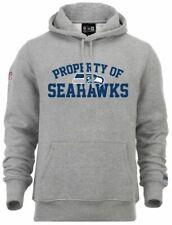 NEW Era-NFL SEATTLE SEAHAWKS Property HOODIE-light grey