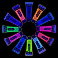 PaintGlow Neon UV Face & Body Paint, 10ml, Fancy Dress