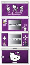 HELLO KITTY Autoadesivo Sottile Vinile per Nintendo DS Lite - Viola