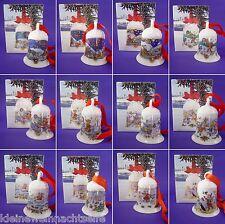 Hutschenreuther Weihnachtsglocken, 1978 - 2017 mit OVP, 7cm  - Einzelverkauf -