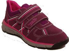 SUPERFIT Schuhe Halbschuhe Klettverschluss rot kombination echt Leder NEU