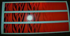 """Arrow Wraps Custom Red Tiger Stripe Fade 13 Pack 7"""" Arrow Building"""