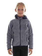 CMP giacca di Pile con cappuccio funzionale Blau Riscaldamento komprimierbar