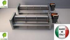 Ventilatore tangenziale ventola da 80 motore DX termocamino stufa pellet camino