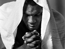 Mike Tyson Portrait Boxer BW Giant Print POSTER Affiche