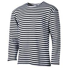 - Langarm RUSSISCHE MARINE Style - WINTER - Pulli Matrosen Longsleeve Shirt