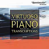 Audio CD Virtuoso Piano Transcriptions  - Free Shipping