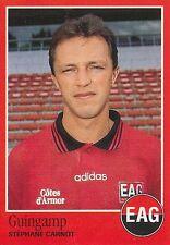 N°083 STEPHANE CARNOT GUINGAMP VIGNETTE PANINI FOOTBALL 97 STICKER 1997