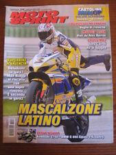 MOTOSPRINT 2007/16 ALEX BARROS TONY CAIROLI KAWASAKI Z