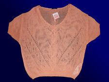 moderno Maglione da donna Pullover Scialle arancione XS-XXL arancione nuovo