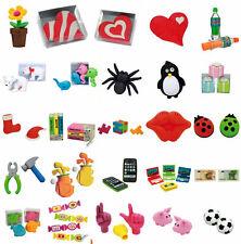 Radiergummi Radierer * Mitgebsel Kindergeburtstag *große  Auswahl