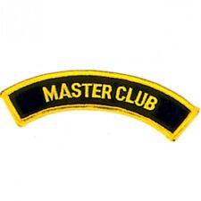 "Master Club Martial Arts Patch - 5"""
