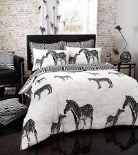 TRIBAL Zebra Stampato Poly Cotone Piumone Set di biancheria da letto con copripiumone disponibile in con federe per cuscini