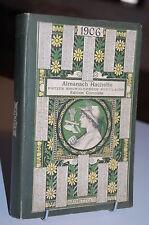 ALMANACH Hachette 1906 + supplément