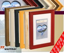 Alpes suerte marco de fotos madera 10x15 hasta 30x40 cm 6 colores marco de foto