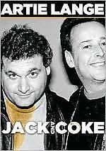 Artie Lange Jack and Coke DVD w/ Bonus Features - Explicit Language New & Sealed