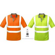 Vizwell Warnschutz Poloshirt Polo-Shirt Shirt Warnshirt Warnschutzshirt