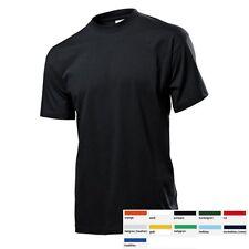 Stedman Herren T-Shirt Classic T Mann Kurzarm Basic Shirts Größe S-3XL ST2000