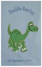 Arlo The Good Dinosaur Luxury Personalised Applique Super Soft Fleece Blanket