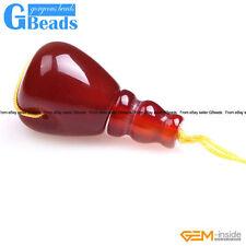 Natural Stones Tibet Mala Buddha Prayer Teardrop Guru Beads One Set 3 Hole 2mm