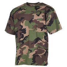 MFH T-shirt maglia uomo militare classica Stati Uniti esercito 00104Z