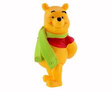 Figurine DISNEY Winnie l'ourson WINNIE AVEC ECHARPE 6 cm neuve