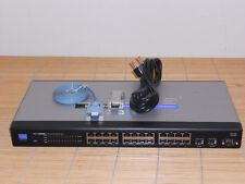 Cisco Small Business Linksys SRW2024  26x Port GIGABIT Switch VER 1.3