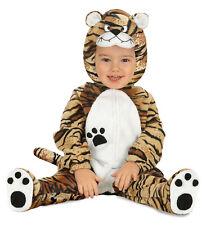 Costume Carnevale Bimbo, Animale Tigre  PS 01823 Primi Mesi Tigrotto