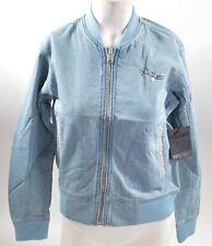 2013 NWT HOLDEN WOMENS WILSON DENIM SNOWBOARD / SKI JACKET $120 vintage blue