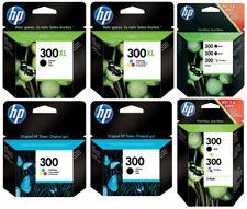Original HP 300 / 300xl Druckerpatronen DeskJet D1660 F2420 PhotoSmart C4650 Set