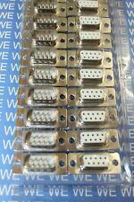 10Stück Sub-D-Buchse / Stecker 9-polig Lötkelch / SUBD Kupplung