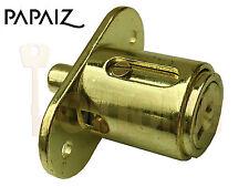 Papaiz art42/25mm Cristal Deslizante Madera Puerta botón Cilindro desatascador