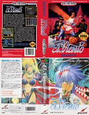 El Viento Sega Mega Drive Genesis NTSC-J Replacement Box Art Case Insert Cover