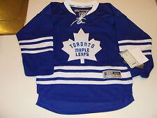 Toronto Maple Leafs 3rd Alternate Jersey Child S/M Reebok Youth Kids Age 8-12