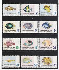 CHRISTMAS ISLAND 1968 Fishes (Fauna)