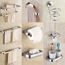 Polished Chrome Brass Bathroom Accessories Set Bath Hardware Towel Bar sset002