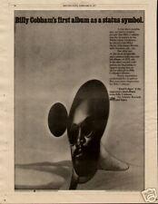 "1975 BILLY COBHAM ""TOTAL ECLIPSE"" ALBUM PROMO AD"