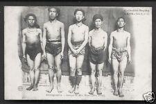 Laos Nude Méos Blanc Men Hua Pahn Indochine ca 1906