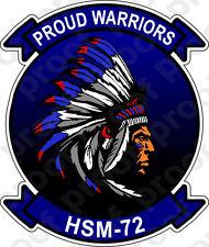 STICKER USN HSM 72 Proud Warriors