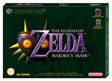 La leggenda di Zelda: Majora's Mask (Nintendo 64, 2000) SIGILLATO Nuovo di zecca