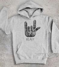 Felpa bambino CORNA HEAVY metal hard rock Black Sabbath Heaven and Hell horns